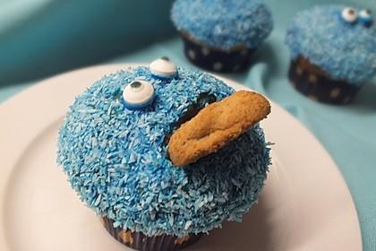 Krümelmonster Cupcakes 33
