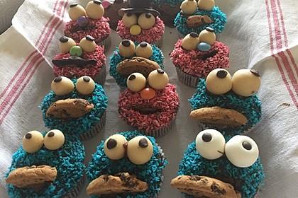 Krümelmonster Cupcakes 164