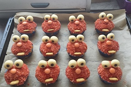 Krümelmonster Cupcakes 106