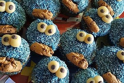 Krümelmonster Cupcakes 166