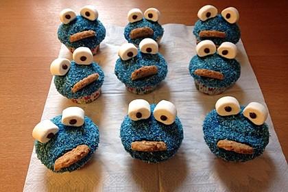 Krümelmonster Cupcakes 1
