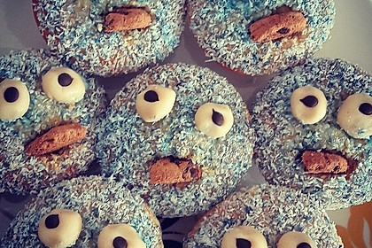 Krümelmonster Cupcakes 159