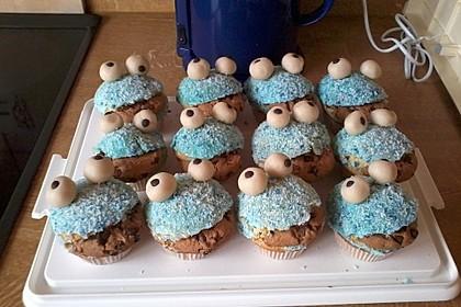 Krümelmonster Cupcakes 154