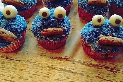 Krümelmonster Cupcakes 7