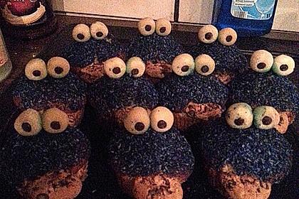 Krümelmonster Cupcakes 200