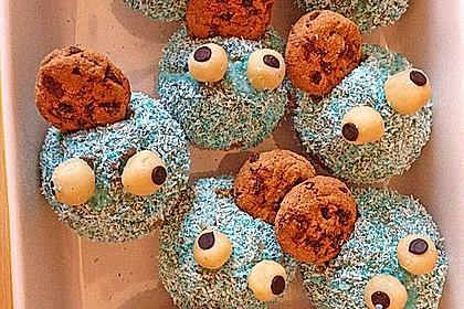 Krümelmonster Cupcakes 123
