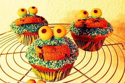 Krümelmonster Cupcakes 162