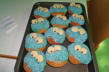 Krümelmonster Cupcakes 138