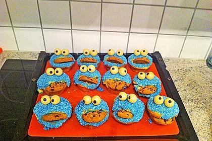 Krümelmonster Cupcakes 129