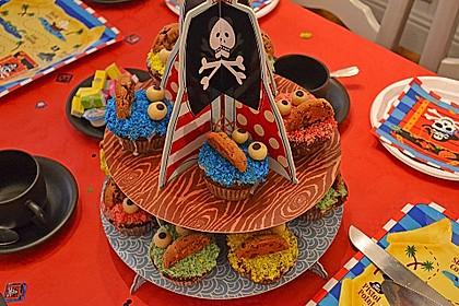 Krümelmonster Cupcakes 76