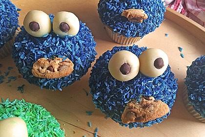 Krümelmonster Cupcakes 44