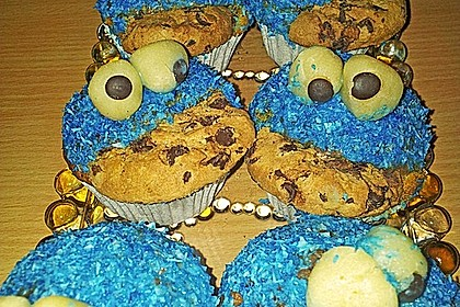 Krümelmonster Cupcakes 126