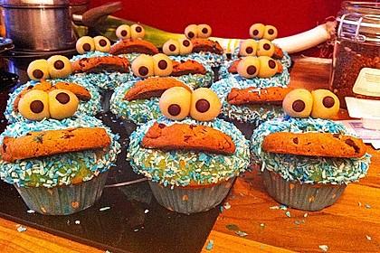 Krümelmonster Cupcakes 84