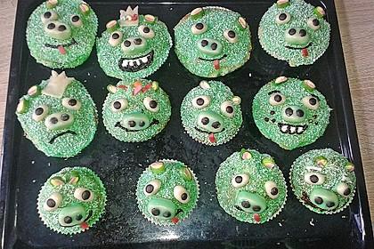 Krümelmonster Cupcakes 19