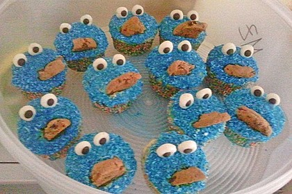 Krümelmonster Cupcakes 198