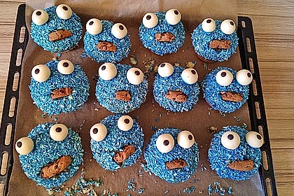 Krümelmonster Cupcakes 79