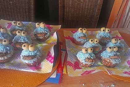 Krümelmonster Cupcakes 158