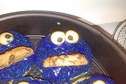 Krümelmonster Cupcakes 90