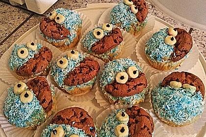 Krümelmonster Cupcakes 134
