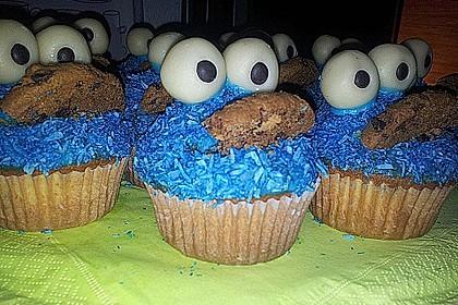Krümelmonster Cupcakes 59