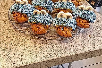 Krümelmonster Cupcakes 92