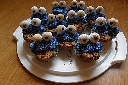Krümelmonster Cupcakes 127