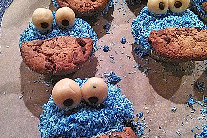 Krümelmonster Cupcakes 128