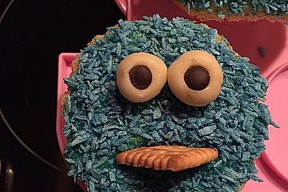 Krümelmonster Cupcakes 67