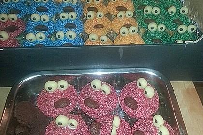 Krümelmonster Cupcakes 52