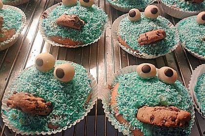 Krümelmonster Cupcakes 180