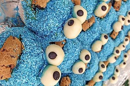 Krümelmonster Cupcakes 62