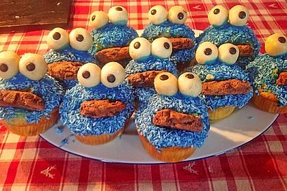 Krümelmonster Cupcakes 41