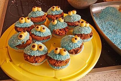 Krümelmonster Cupcakes 177