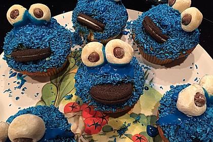 Krümelmonster Cupcakes 46