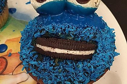 Krümelmonster Cupcakes 80