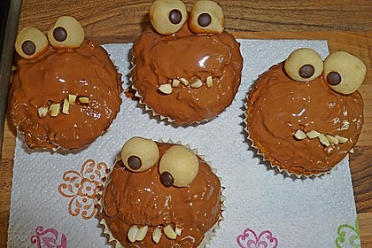 Krümelmonster Cupcakes 236