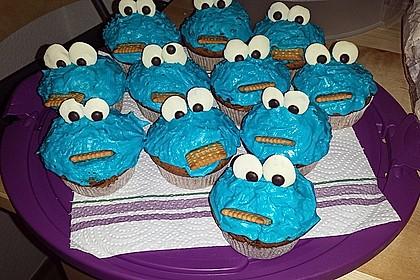 Krümelmonster Cupcakes 196