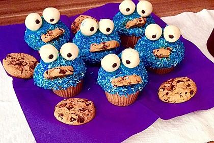 Krümelmonster Cupcakes 66