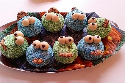 Krümelmonster Cupcakes 148