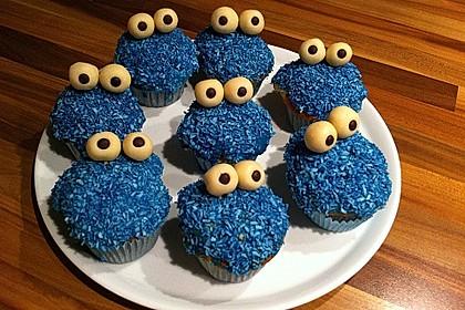 Krümelmonster Cupcakes 39