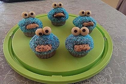 Krümelmonster Cupcakes 45