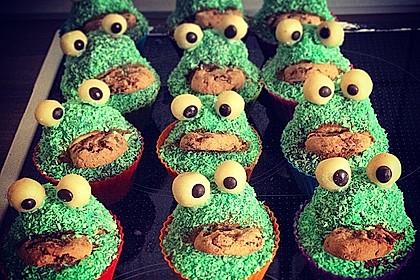 Krümelmonster Cupcakes 20