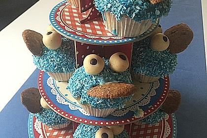 Krümelmonster Cupcakes 178