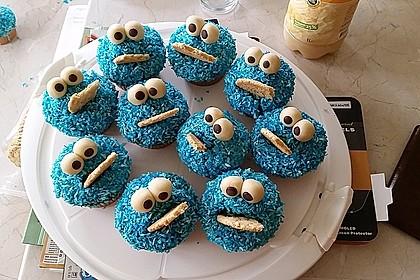 Krümelmonster Cupcakes 122