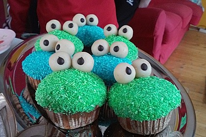 Krümelmonster Cupcakes 77
