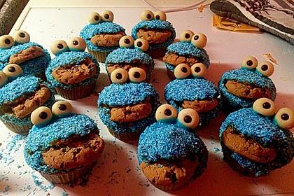 Krümelmonster Cupcakes 131