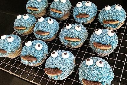 Krümelmonster Cupcakes 136