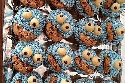 Krümelmonster Cupcakes 149