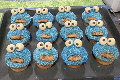 Krümelmonster Cupcakes 114