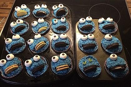 Krümelmonster Cupcakes 111